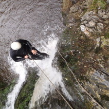 Canyoning in de Ardennen